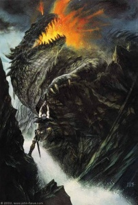 404px-John_Howe_-_The_Death_of_Glaurung