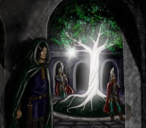 isildur_and_the_fruit_of_nimloth_by_mirachravaia-d5y7y2k