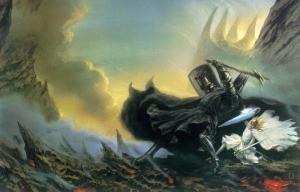 John_Howe_-_Fingolfin's_Challenge