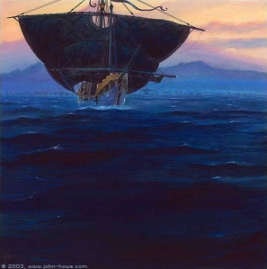 John_Howe_-_The_Fleet_of_Ar-Pharazon