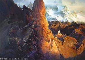 John_Howe_-_The_Siege_of_Gondolin