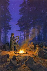 Ted_Nasmith_-_Felagund_Among_Bëor's_Men