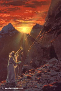 Ted_Nasmith_-_Húrin_Reaches_the_Echoriath