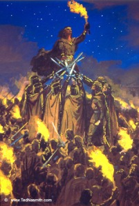 Ted_Nasmith_-_The_Oath_of_Fëanor