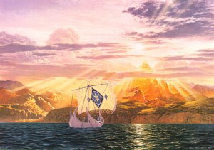 Ted_Nasmith_-_The_Shores_of_Valinor