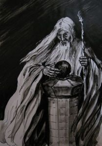 417px-Anna_Kulisz_-_Saruman_with_the_Palantir