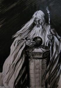 417px-Anna_Kulisz_-_Saruman_with_the_Palantir