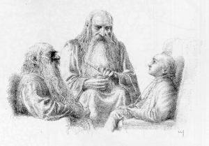 Alan_Lee_-_Visit_to_Bilbo