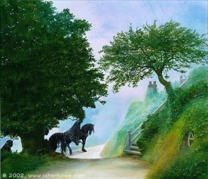 John_Howe_-_Black_Riders_in_the_Shire
