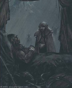 John_Howe_-_The_Death_of_Thorin