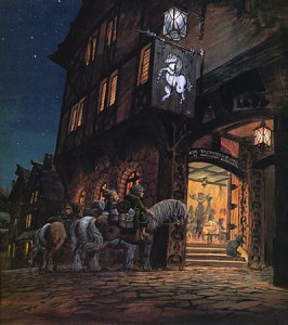 Ted_Nasmith_-_At_the_Sign_of_the_Prancing_Pony