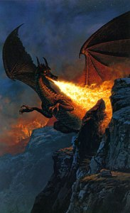 Ted_Nasmith_-_Scouring_the_Mountain