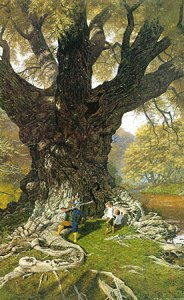 Ted_Nasmith_-_The_Willow_Man_is_Tamed