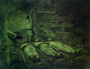 Ted_Nasmith_-_Under_the_Spell_of_the_Barrow-wight