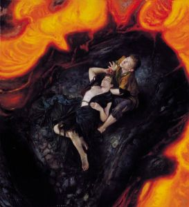 546px-Donato_Giancola_-_On_the_Steps_of_Mount_Doom