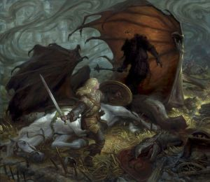 690px-Donato_Giancola_-_Eowyn_and_the_Lord_of_the_Nazgul