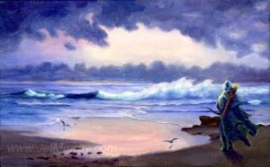 Jef_Murray_-_Legolas_comes_to_the_sea...