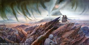 John_Howe_-_Mount_Doom