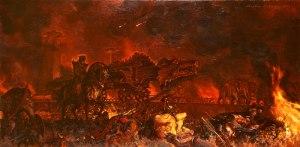 Stephen_Hickman_-_Siege_of_Minas_Tirith