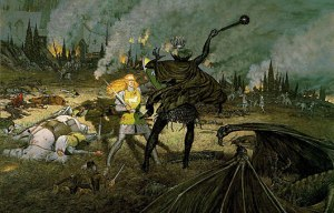 Ted_Nasmith_-_Éowyn_and_the_Lord_of_the_Nazgûl