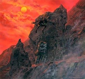Ted_Nasmith_-_Endgame_on_the_Mountain