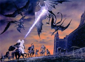 A Tolkien illustration by Ted Nasmith
